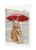 Rainy Day Rabbit